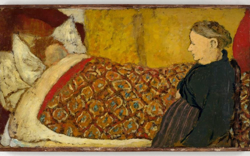 Edouard Vuillard, Vuillard and His Mother Madame Vuillard, Figure, Édouard Vuillard, kanvas tablo, canvas print sales