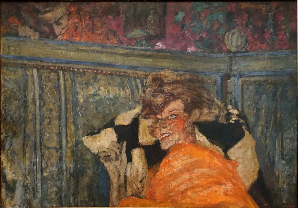 Edouard Vuillard, Yvonne Printemps ve Sacha Guitry, Kanvas Tablo, Édouard Vuillard, kanvas tablo, canvas print sales