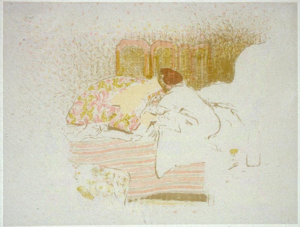 Edouard Vuillard, Annette in Doğuşu, Figür, Édouard Vuillard, kanvas tablo, canvas print sales