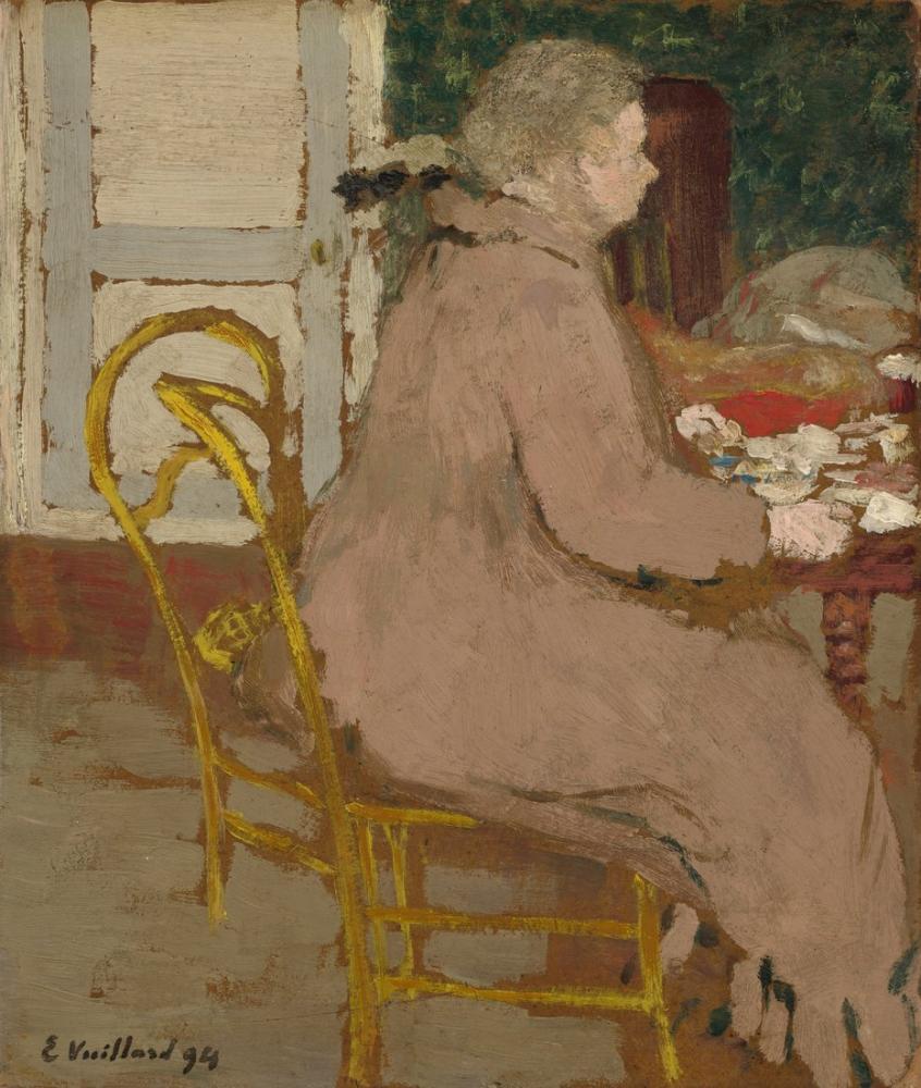 Edouard Vuillard, Breakfast, Canvas, Édouard Vuillard, kanvas tablo, canvas print sales