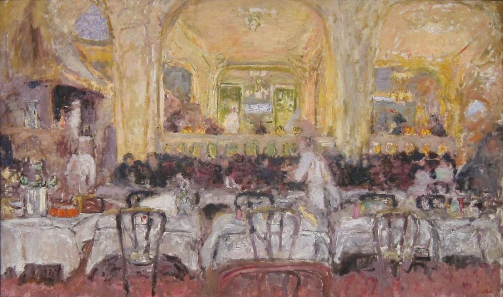 Edouard Vuillard, Café Wepler, Figür, Édouard Vuillard, kanvas tablo, canvas print sales