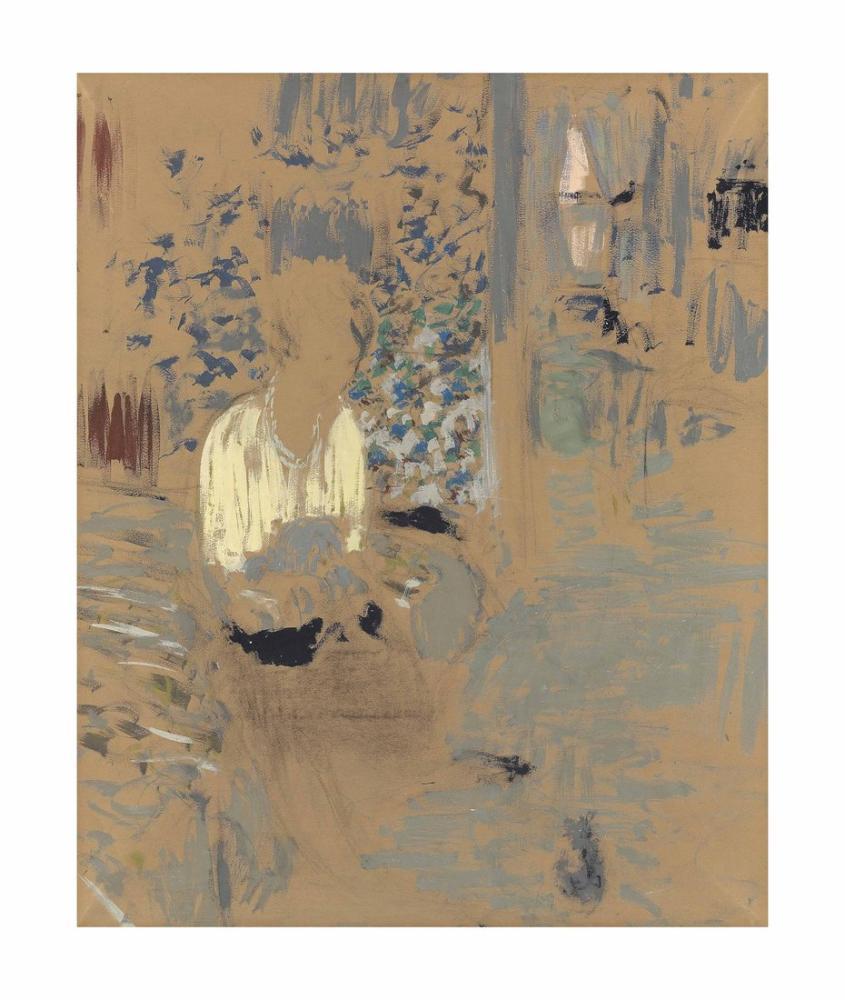 Edouard Vuillard, Kontes Jean de Polignac, Figür, Édouard Vuillard, kanvas tablo, canvas print sales
