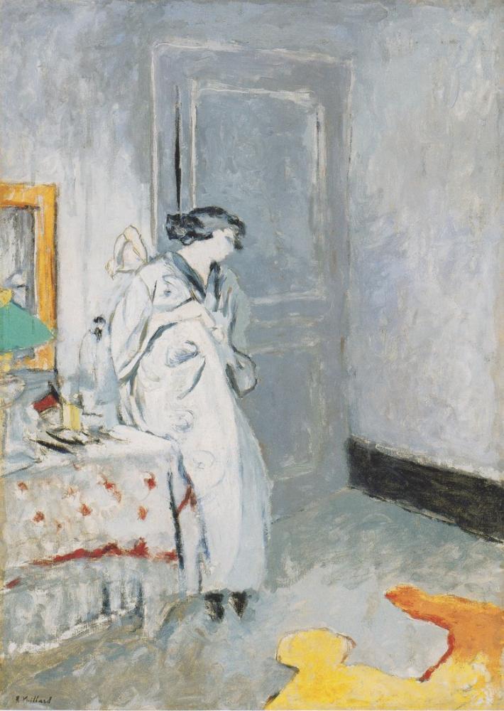 Edouard Vuillard, Das blaue Zimmer, Figure, Édouard Vuillard, kanvas tablo, canvas print sales