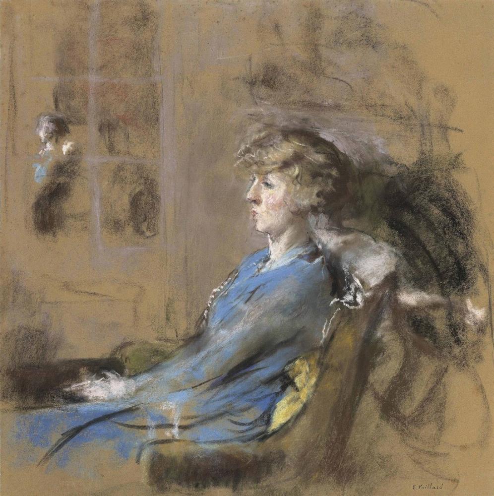 Edouard Vuillard, Emmy Lynn, Kanvas Tablo, Édouard Vuillard, kanvas tablo, canvas print sales