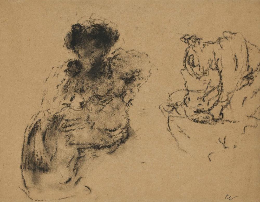 Edouard Vuillard, Etude de Figure, Figure, Édouard Vuillard, kanvas tablo, canvas print sales