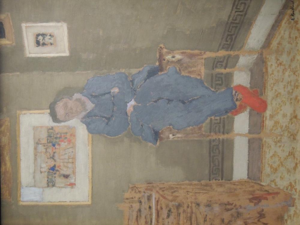 Edouard Vuillard, Felix Vallotton, Figür, Édouard Vuillard, kanvas tablo, canvas print sales