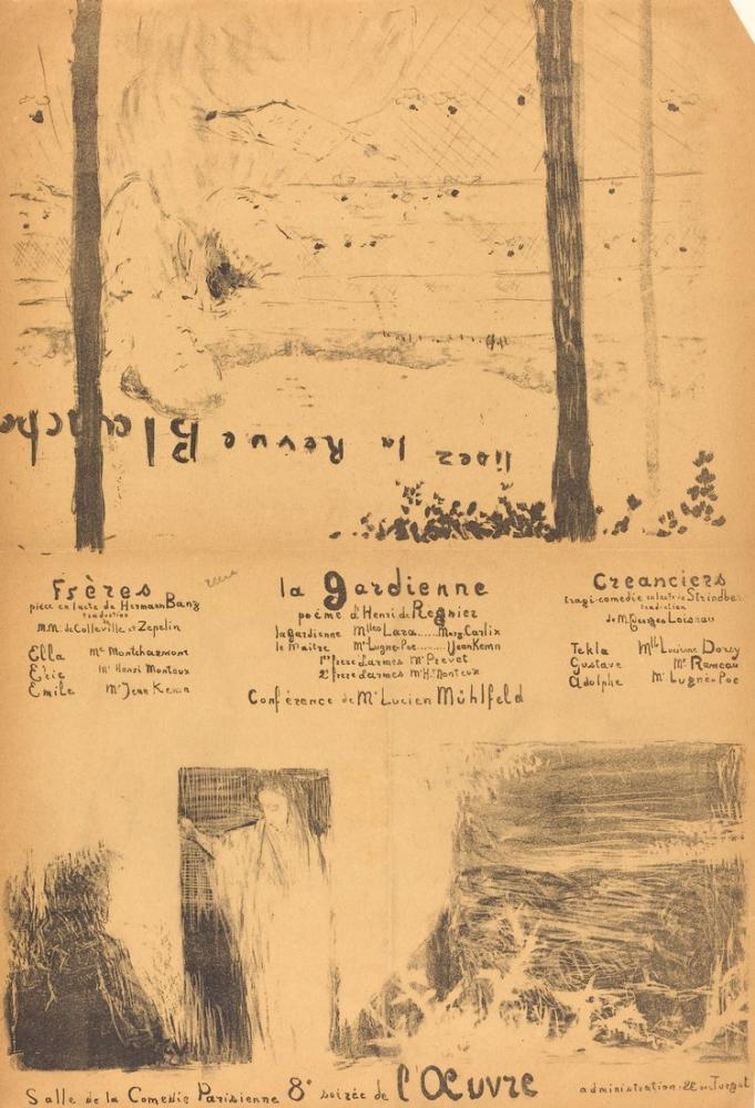 Edouard Vuillard, Kardeşler; Koruyucu; Alacaklılar, Figür, Édouard Vuillard, kanvas tablo, canvas print sales