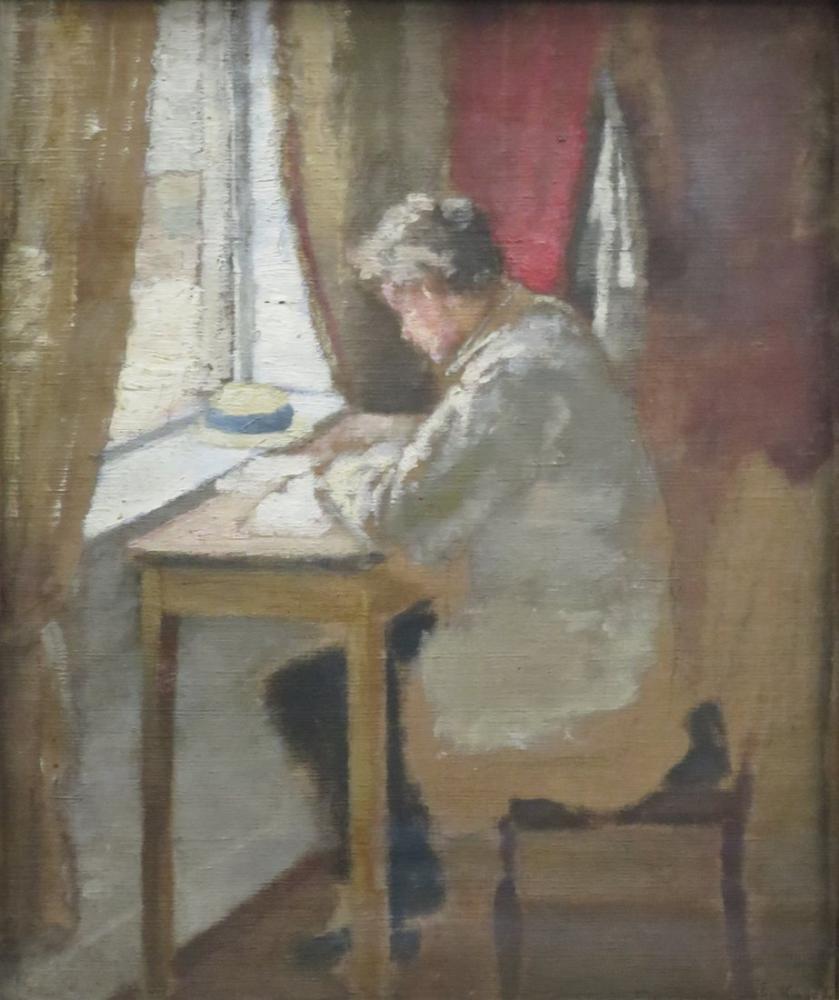 Edvard Munch Andreas Penceresi, Kanvas Tablo, Edvard Munch, kanvas tablo, canvas print sales