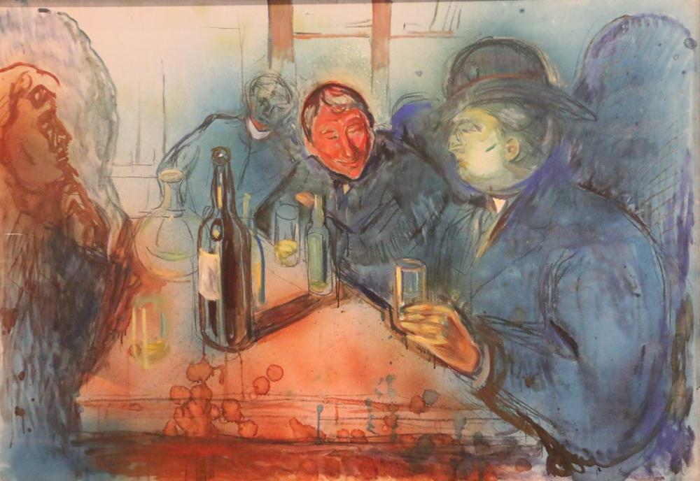 Edvard Munch Oslo Teyen, Kanvas Tablo, Edvard Munch, kanvas tablo, canvas print sales