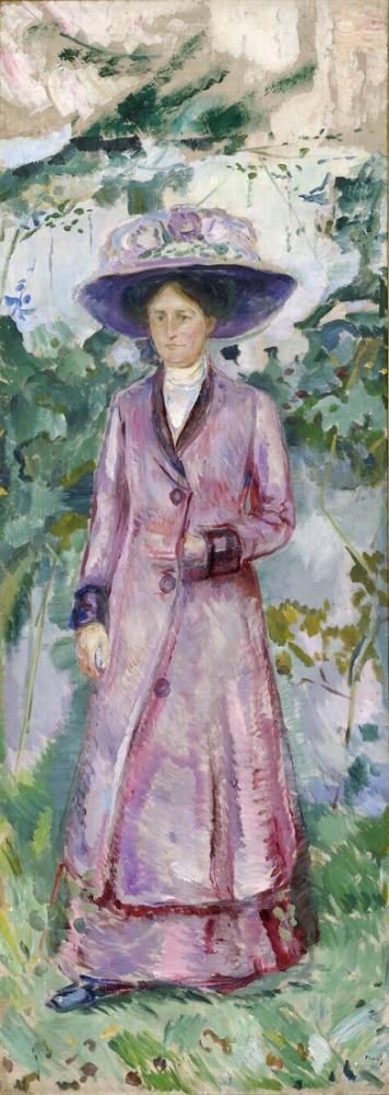 Edvard Munch Ida Roede Portresi, Kanvas Tablo, Edvard Munch, kanvas tablo, canvas print sales