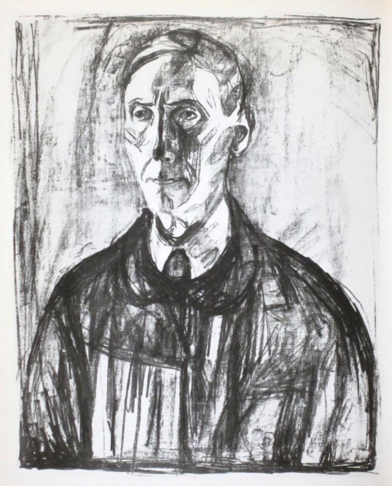 Edvard Munch Profesör Schreiner, Kanvas Tablo, Edvard Munch, kanvas tablo, canvas print sales