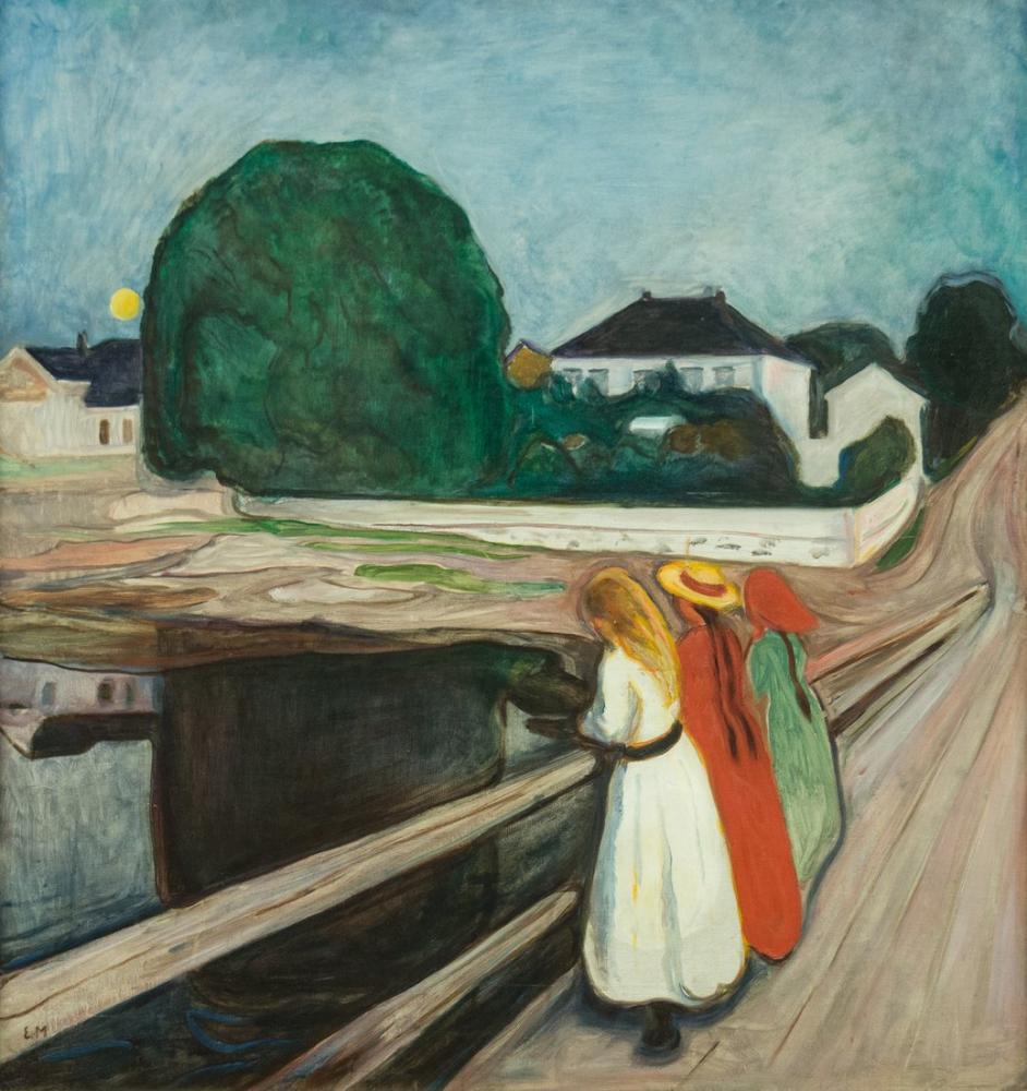 Edvard Munch Asgardstrand, Canvas, Edvard Munch, kanvas tablo, canvas print sales
