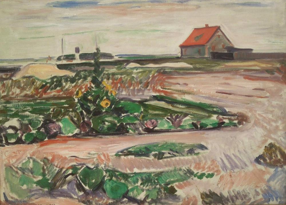 Edvard Munch Seashore, Canvas, Edvard Munch, kanvas tablo, canvas print sales