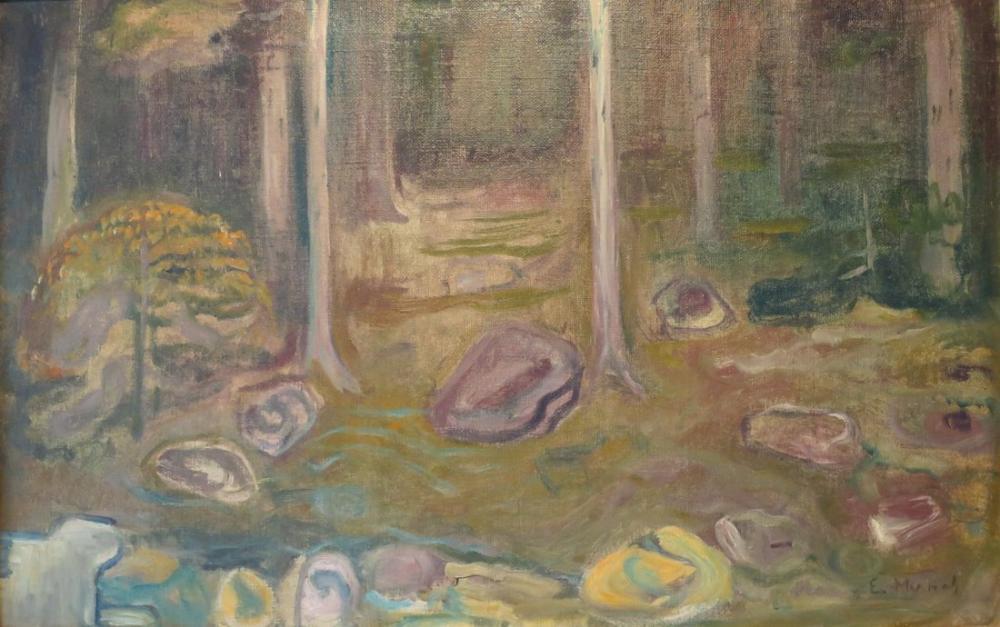Edvard Munch Sketch For Ashes, Canvas, Edvard Munch, kanvas tablo, canvas print sales