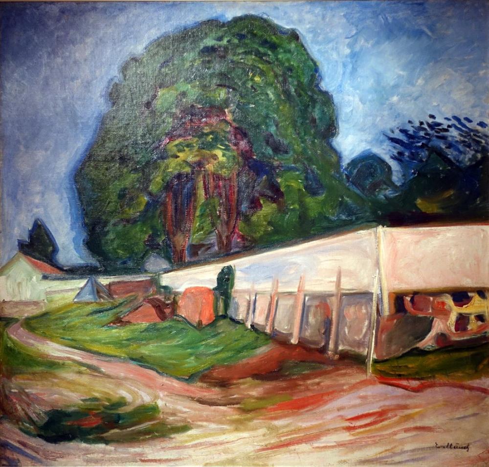Edvard Munch Yaz Gecesi Aasgaardstrand da, Kanvas Tablo, Edvard Munch, kanvas tablo, canvas print sales
