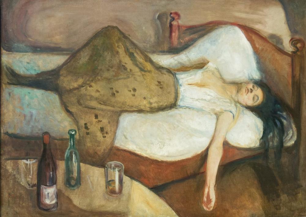 Edvard Munch The Day After, Canvas, Edvard Munch, kanvas tablo, canvas print sales