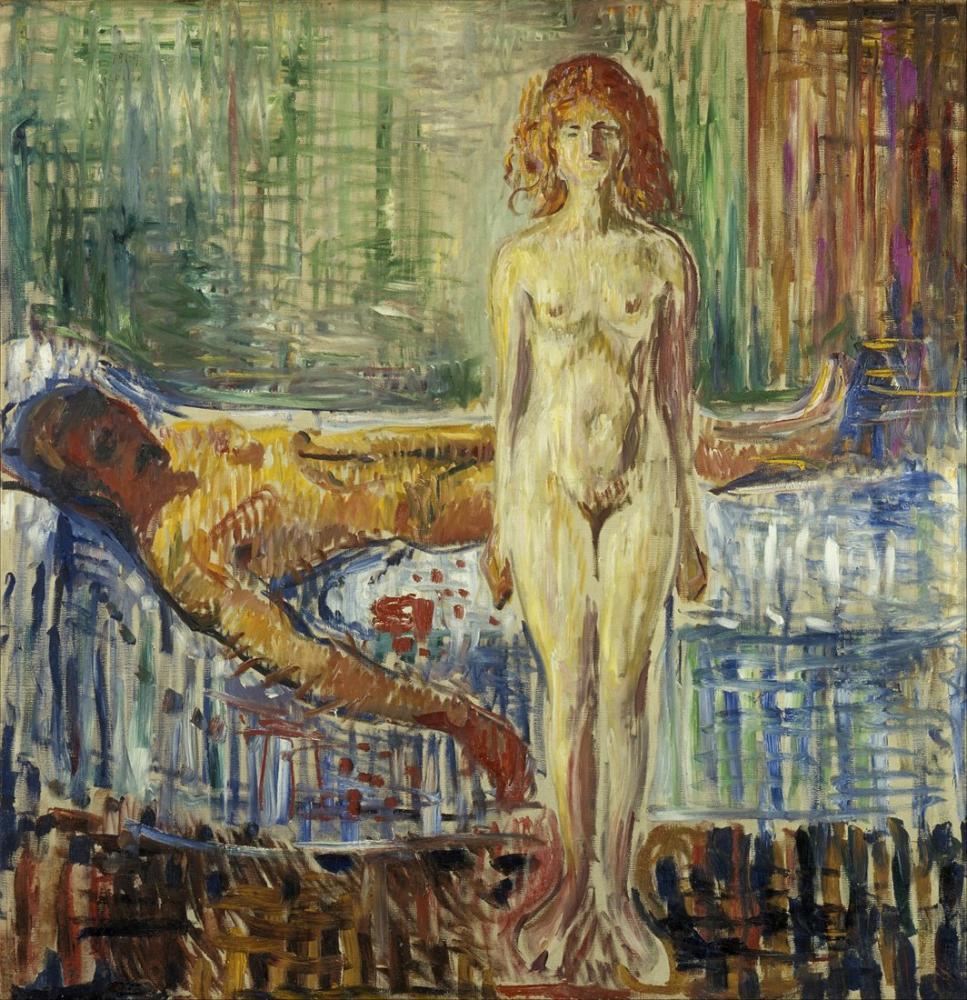 Edvard Munch The Death Of Marat II, Canvas, Edvard Munch, kanvas tablo, canvas print sales