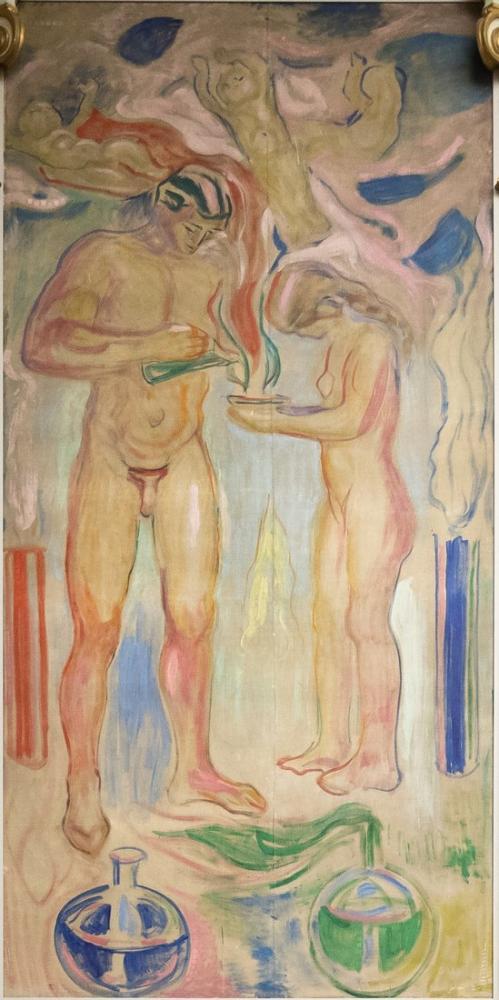 Edvard Munch Kimya, Kanvas Tablo, Edvard Munch, kanvas tablo, canvas print sales