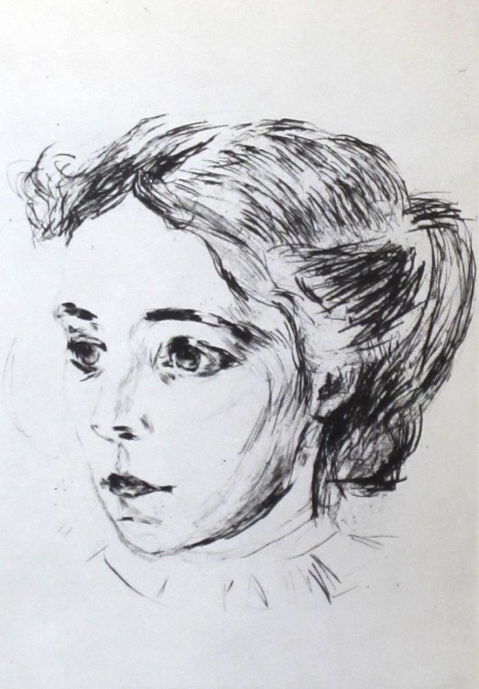 Edvard Munch The Nurse, Canvas, Edvard Munch, kanvas tablo, canvas print sales