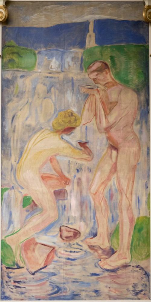 Edvard Munch Kaynak, Kanvas Tablo, Edvard Munch, kanvas tablo, canvas print sales