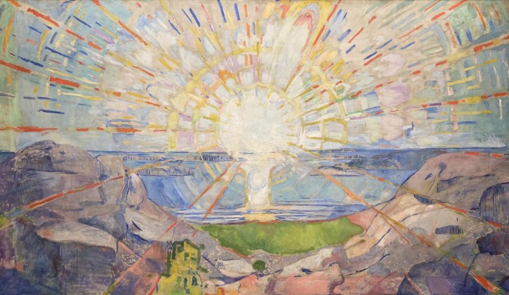 Edvard Munch The Sun, Canvas, Edvard Munch, kanvas tablo, canvas print sales