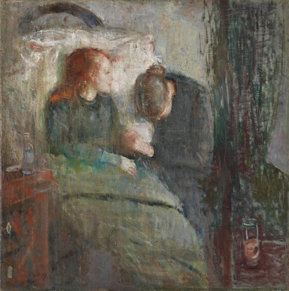 Edvard Munch The Syke Barn, Canvas, Edvard Munch, kanvas tablo, canvas print sales