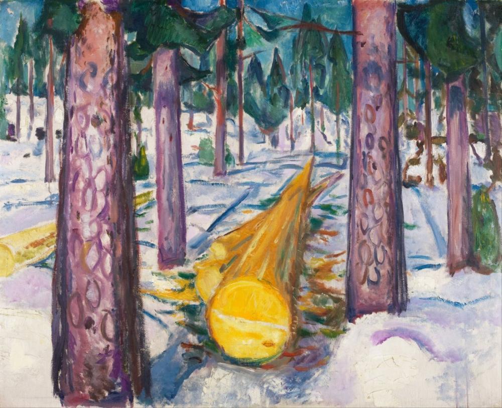 Edvard Munch Sarı Günlüğü, Kanvas Tablo, Edvard Munch, kanvas tablo, canvas print sales