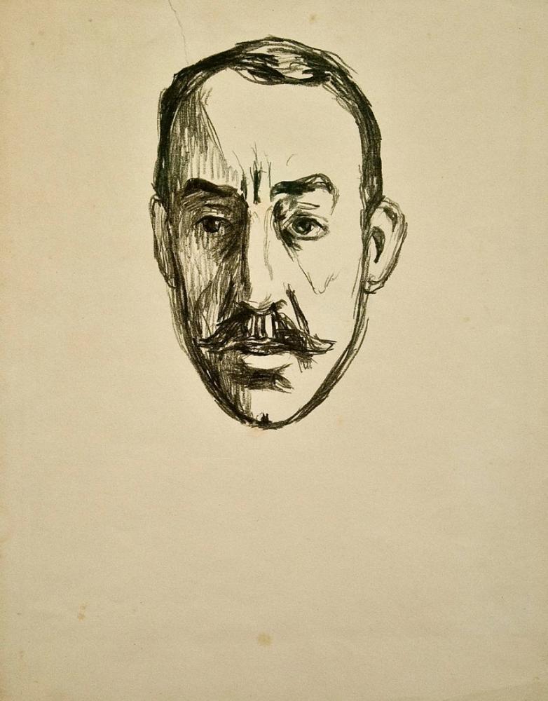Edvard Munch Van De Velde, Kanvas Tablo, Edvard Munch, kanvas tablo, canvas print sales