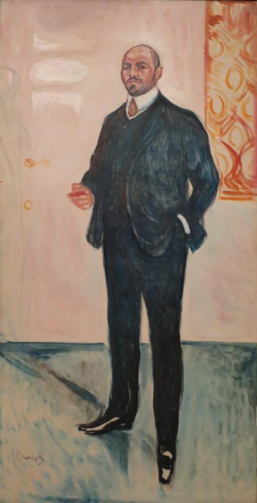 Edvard Munch Walter Rathenau, Kanvas Tablo, Edvard Munch, kanvas tablo, canvas print sales