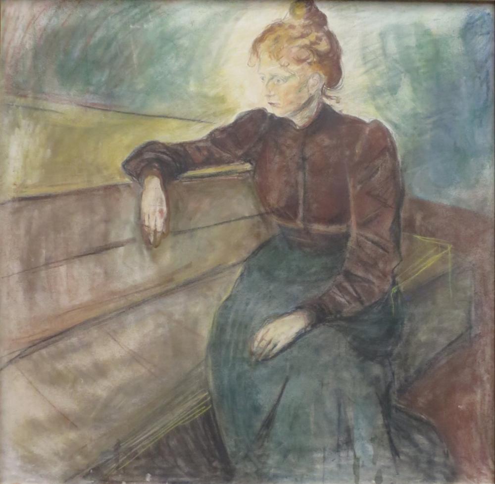 Edvard Munch Kadın, Kanvas Tablo, Edvard Munch, kanvas tablo, canvas print sales