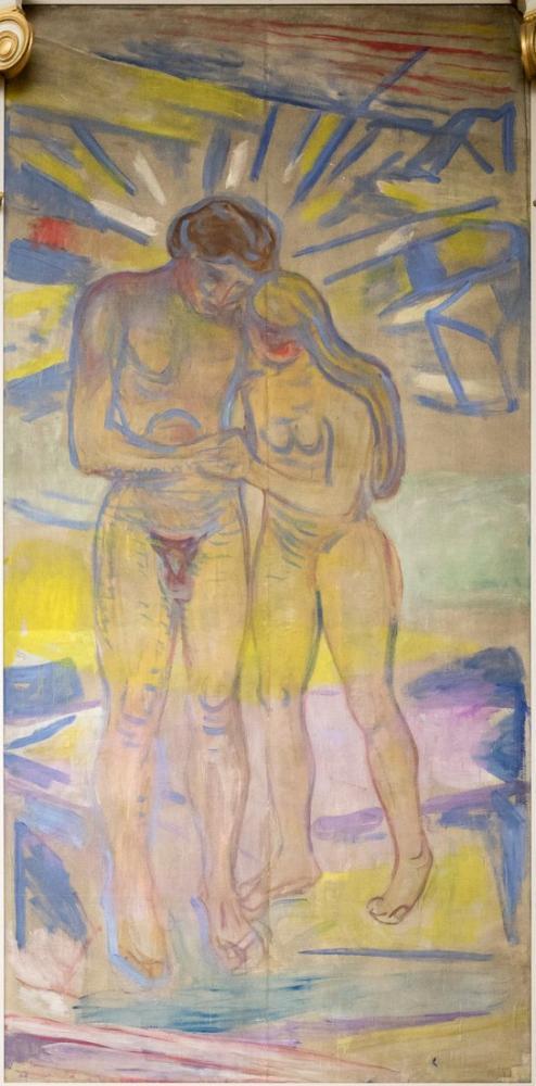 Edvard Munch Yeni Işınlar, Kanvas Tablo, Edvard Munch, kanvas tablo, canvas print sales