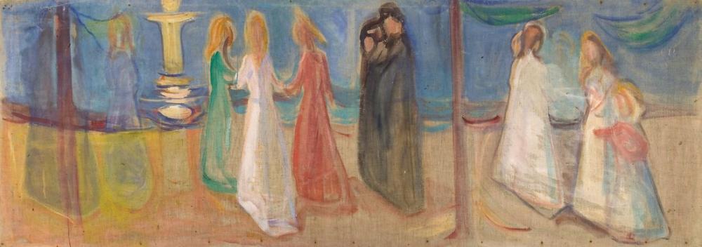 Edvard Munch Reinhardt Frieze Arzu, Kanvas Tablo, Edvard Munch, kanvas tablo, canvas print sales
