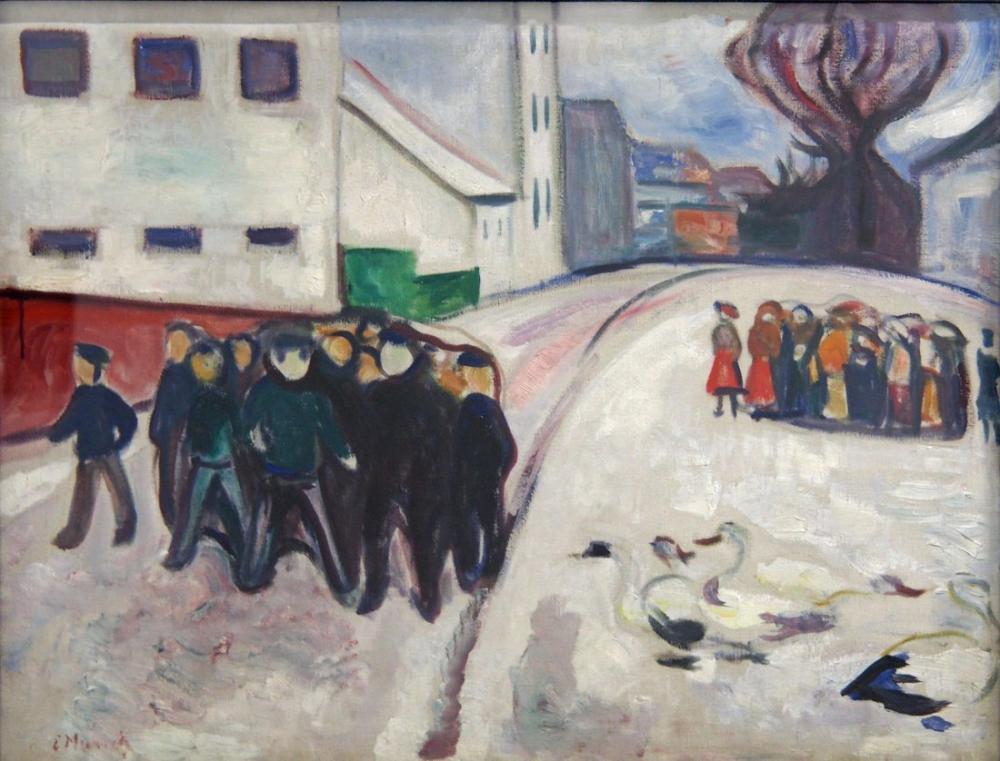 Edvard Munch Edward Elgersburg Sprengel, Canvas, Edvard Munch, kanvas tablo, canvas print sales