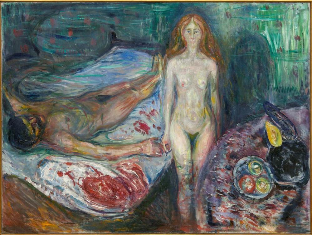 Edvard Munch Yaşam Friz, Kanvas Tablo, Edvard Munch, kanvas tablo, canvas print sales