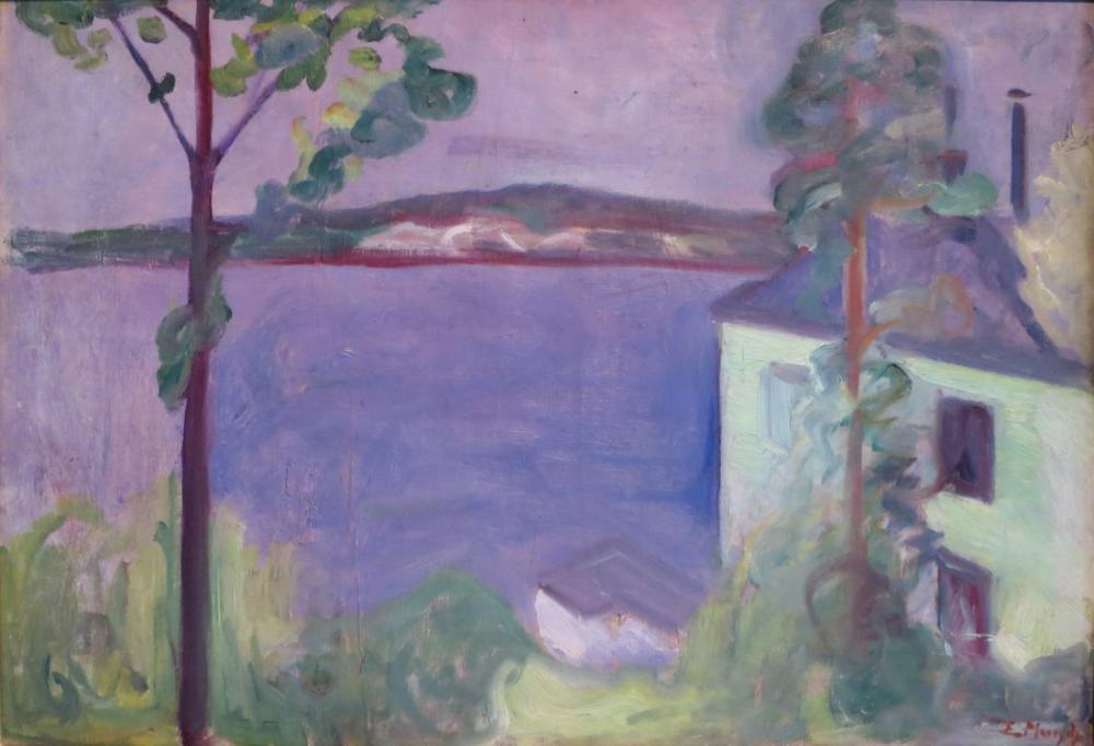 Edvard Munch From Nordstrand, Canvas, Edvard Munch, kanvas tablo, canvas print sales