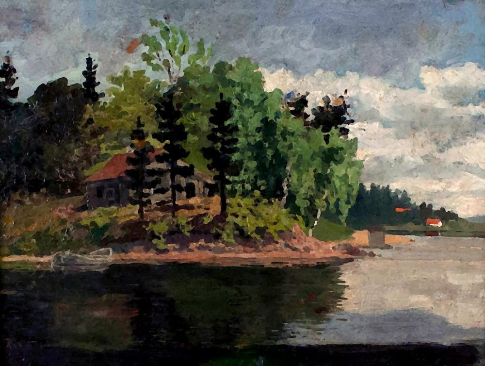 Edvard Munch Sandviken, Kanvas Tablo, Edvard Munch, kanvas tablo, canvas print sales