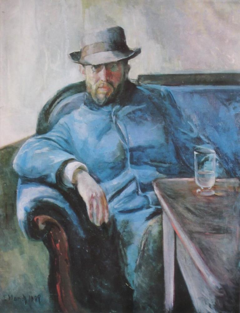 Edvard Munch Hans Jaeger, Kanvas Tablo, Edvard Munch, kanvas tablo, canvas print sales