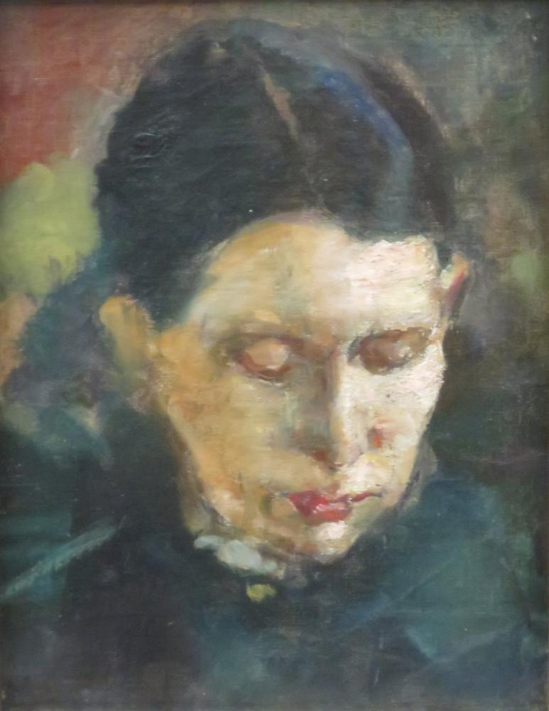 Edvard Munch Karen Bjlstad, Kanvas Tablo, Edvard Munch, kanvas tablo, canvas print sales