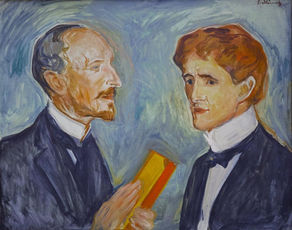 Edvard Munch Kolman Drevsen, Kanvas Tablo, Edvard Munch, kanvas tablo, canvas print sales