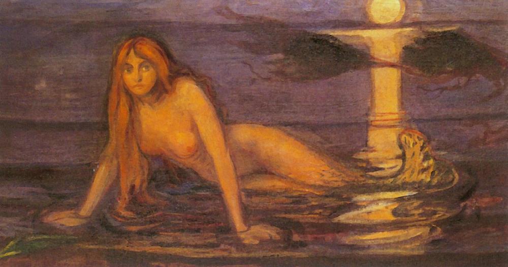 Edvard Munch Deniz Kızı, Kanvas Tablo, Edvard Munch, kanvas tablo, canvas print sales