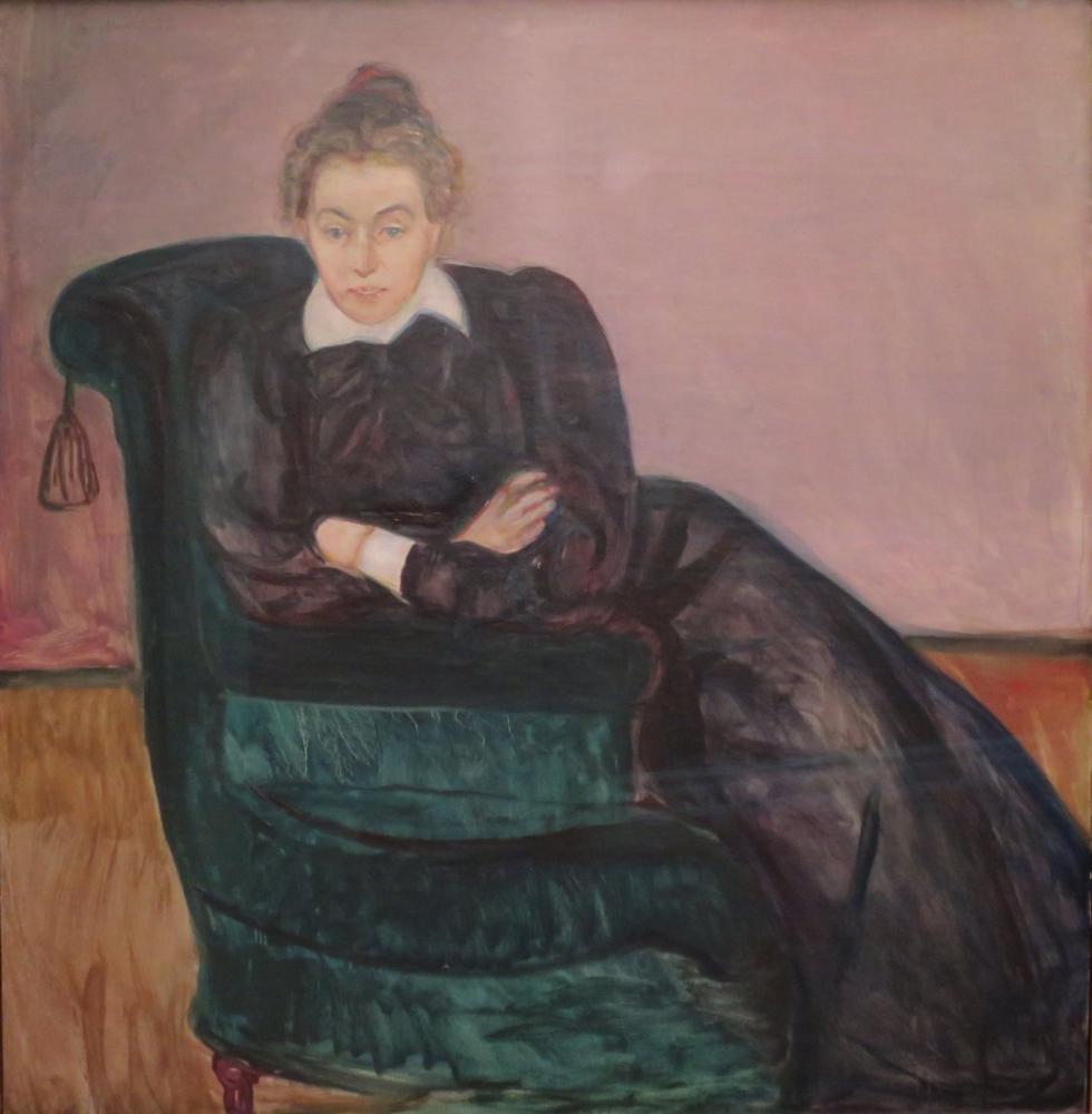 Edvard Munch Marie Helene Holmboe, Canvas, Edvard Munch, kanvas tablo, canvas print sales