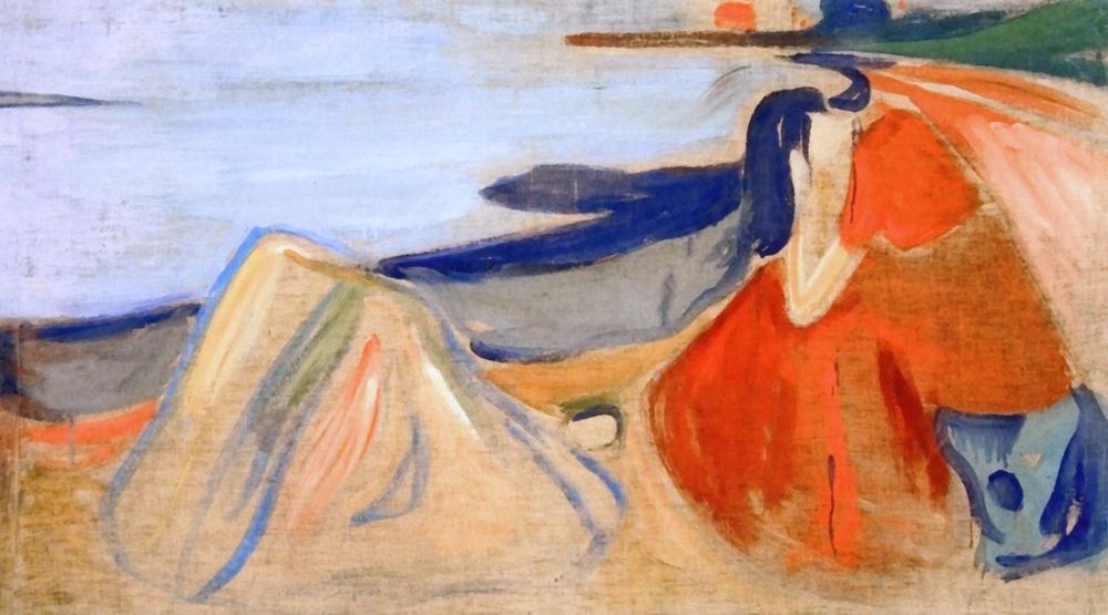 Edvard Munch Melancholy, Canvas, Edvard Munch, kanvas tablo, canvas print sales