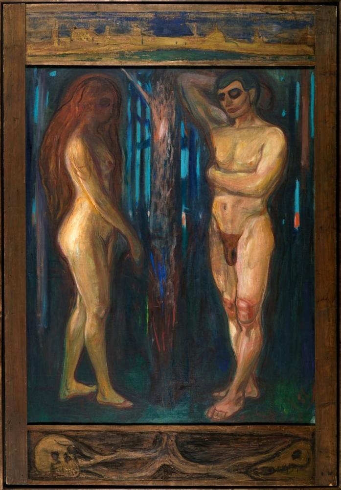 Edvard Munch Metabolism, Canvas, Edvard Munch, kanvas tablo, canvas print sales