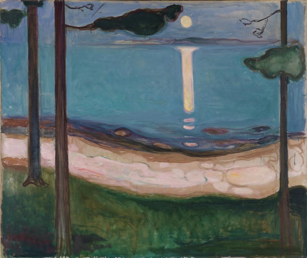 Edvard Munch Mehtap, Kanvas Tablo, Edvard Munch, kanvas tablo, canvas print sales