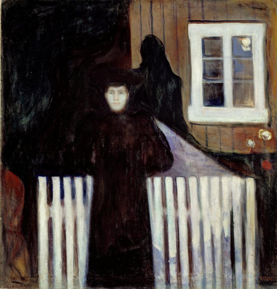 Edvard Munch Moonlight II, Canvas, Edvard Munch, kanvas tablo, canvas print sales