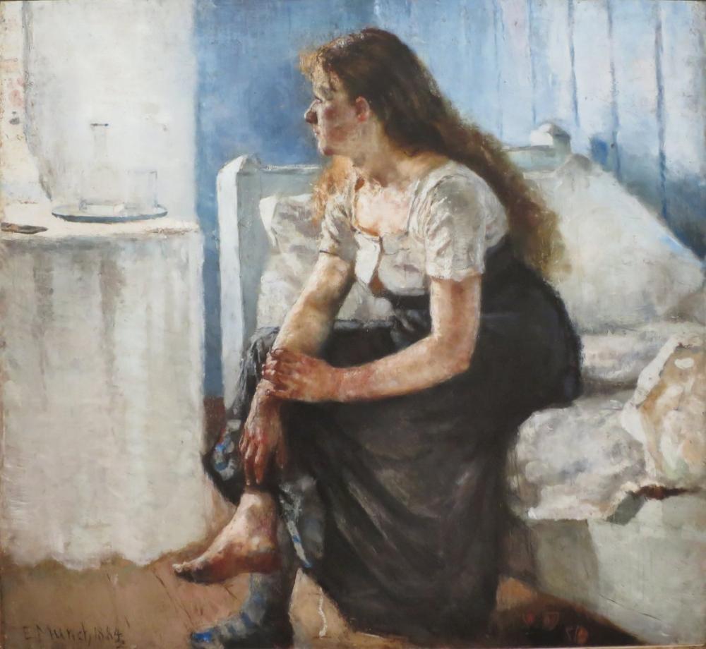 Edvard Munch Morning, Canvas, Edvard Munch, kanvas tablo, canvas print sales