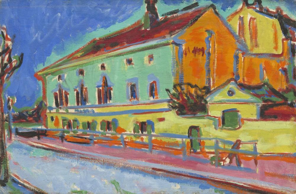 Ernst Ludwig Kirchner, Dance Hall Bellevue, Canvas, Ernst Ludwig Kirchner, kanvas tablo, canvas print sales