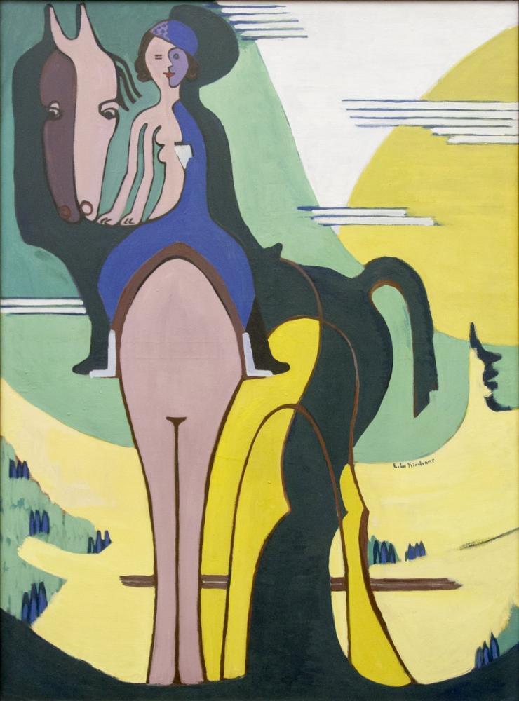 Ernst Ludwig Kirchner, Binici, Figür, Ernst Ludwig Kirchner, kanvas tablo, canvas print sales