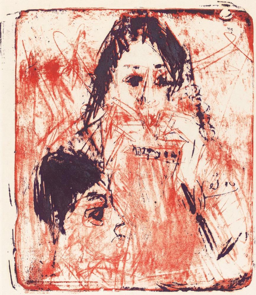 Ernst Ludwig Kirchner, Mızıka Oyuncu, Figür, Ernst Ludwig Kirchner, kanvas tablo, canvas print sales