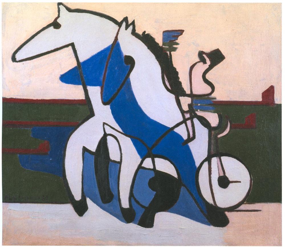 Ernst Ludwig Kirchner, Trabergespann, Figure, Ernst Ludwig Kirchner, kanvas tablo, canvas print sales